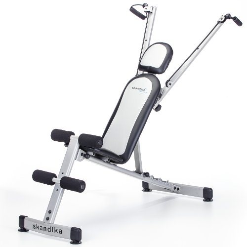 Skandika Multibench Pro SF-2100 Training Bench Black/Silver