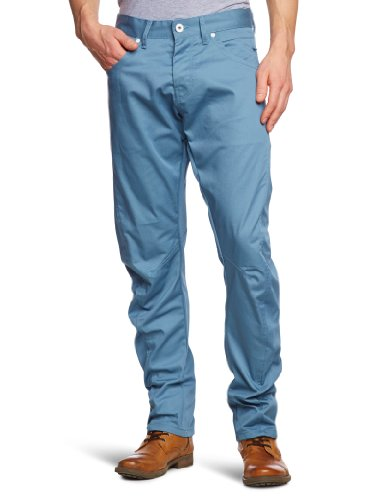 Jack and Jones Dale Twisted Provincial AKM 1-2-3 13 Straight Men's Trousers Washed W30INxL32IN