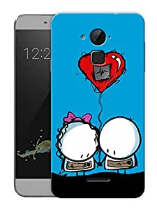 "Humor Gang Cartoon Love Printed Designer Mobile Back Cover For ""Coolpad Note 3"" (3D, Matte, Premium Quality Snap On Case)"