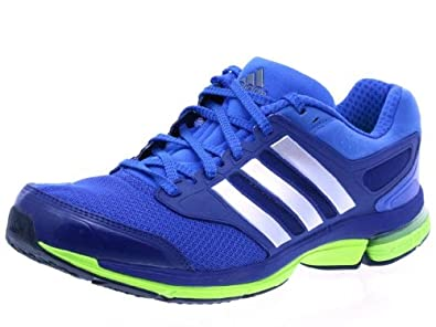 Adidas Supernova Solution 3 Shoes - Blue Beauty/Metal Silver/Electricity (Mens) - 9.5