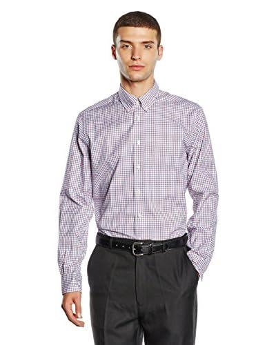 Hackett London Camicia Uomo [Blu/Rosso]