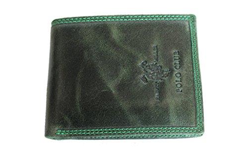 Portafogli uomo Harvey Miller l.pelle mod.piccolo 7200.992 verde moda italiana