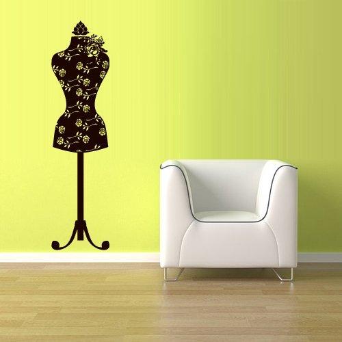 Wall Vinyl Sticker Decals Decor Art Bedroom Design Mural Poster Mannequin Sewing Model Craft (Z2612) by StickersForLife [並行輸入品]