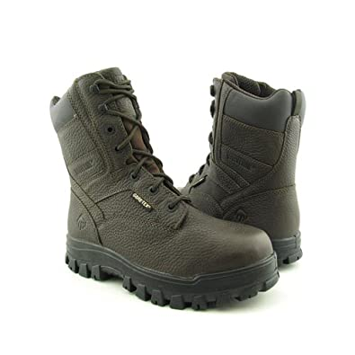 Wolverine Vulcan GTX ST Mens Size 9 Brown Brown Boots Work Leather Work Boots