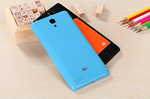 BEST DEALS Best Deals New Premium PC Material Battery Back Case for Xiaomi Redmi Note 3G/4G/Prime Blue
