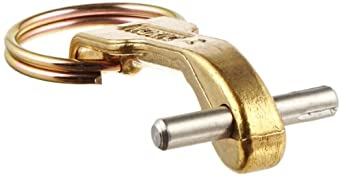 "Dixon 200-HRP-BR Brass Cam and Groove Hose Fitting, Standard Handle Assembly for 1-1/4"" - 2-1/2"" Coupler Body"