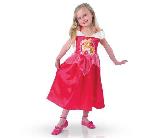 Disney Costume Aurora La Bella Addormentata Classico Originale, Medium 5 - 6 Anni, 116 cm, Rosa