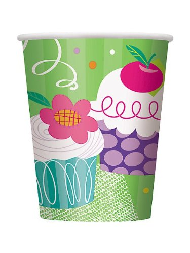Cupcake Party 9oz Cup