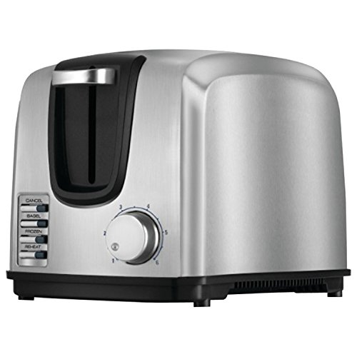 BLACK+DECKER T2707S 2-Slice Toaster, Bagel Toaster, Stainless Steel (White Black And Decker Toaster compare prices)