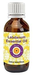 Pure Labdanum Essential Oil 30ml (Cistus ladaniferus) by Deve Herbes