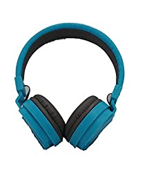 BYTE CORSECA DMHW 3213 BLUE STEREO WIRED HEADPHONE WITH MIC 3.5