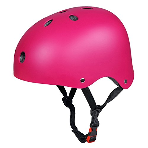 SymbolLife-Skateboard-Skate-Helmet-with-Protective-Gear-Knee-Pads-Elbow-Pads-Wrist-Guards-for-Kids-BMX-Skateboard-Scooter-For-Head-Size-S-55-57cm-M-58-60cm-L-61-63cm