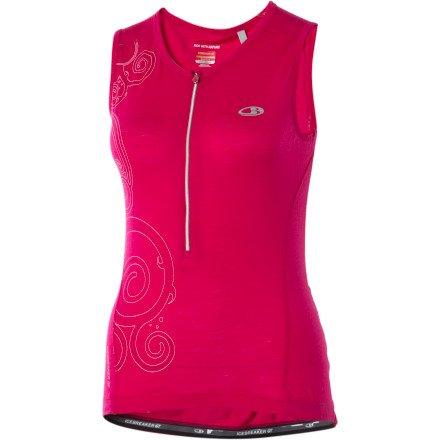 Buy Low Price Icebreaker Women's Sleeveless Rhythm Jersey (IB6F29-P)