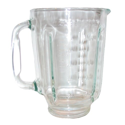 Kitchenaid Blender Jar: KitchenAid glass blender jar.