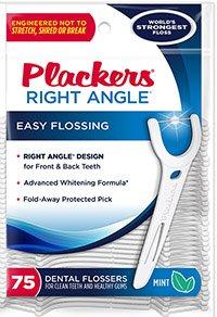 dental floss plackers whitening right angle floss picks75