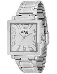 Axe Style Analog White Dial Watch For Men- X1133SM02