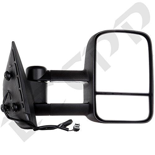Tyger Oe Style Plug Amp Play Towing Mirrors 2pcs Set Power
