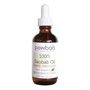 Powbab - 100% Baobab Oil Cold Pressed - 1 oz.