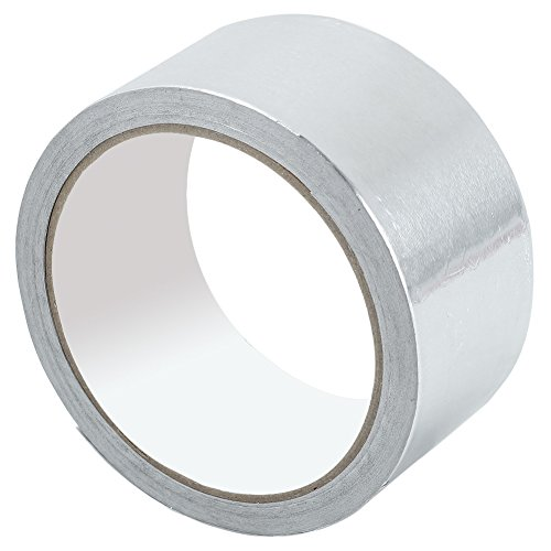 1 Roll 48mm x 17m Aluminium Foil Insulation Bright Silver Tape Duct