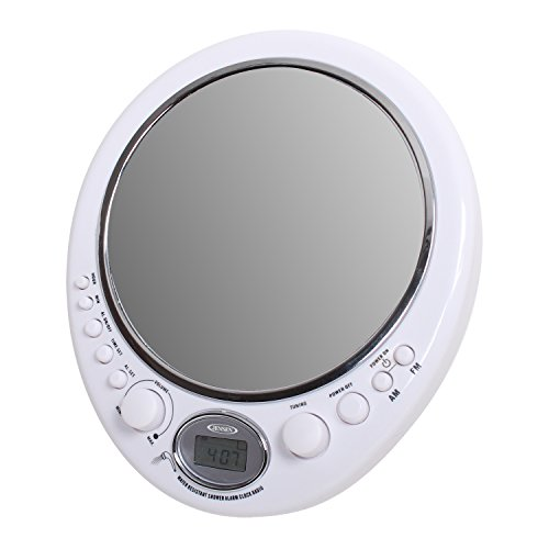 Jensen JWM150 Audio Shower Radio with AM/FM (Shower Mirror With Radio compare prices)