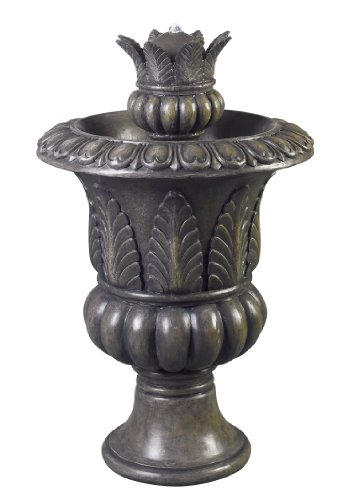 Kenroy Home #53260BP Tuscan Urn Outdoor Floor Fountain in Bronze Patina Finish