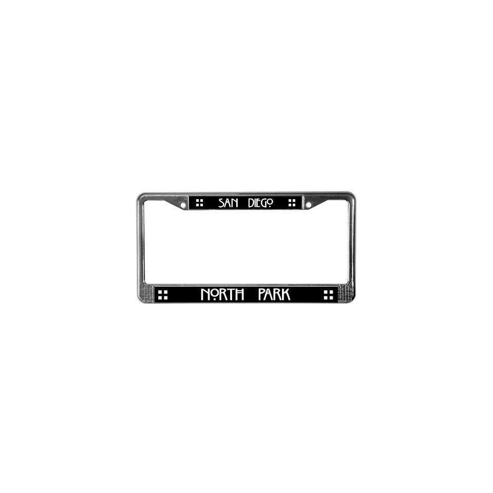 North Park San diego License Plate Frame by