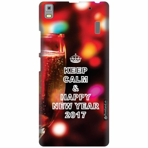 Printland Designer Back Cover For Lenovo A7000 PA030023IN - Happy New Year Cases Cover  available at amazon for Rs.299