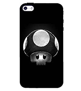PrintDhaba ART D-6103 Back Case Cover for APPLE IPHONE 4S (Multi-Coloured)