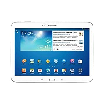 """Samsung 3 10.1 Wi-Fi Tablette Tactile 10.1 """" Android Blanc"""