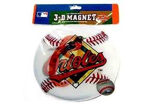Baltimore Orioles 3D Baseball Magnet Case Pack 12