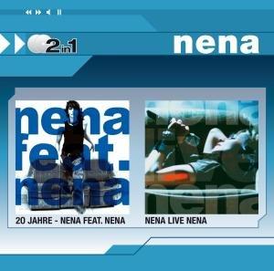 Nena - 20 Jahre-Nena Feat.Nena/Nena Live Nena (2in1) - Zortam Music