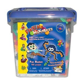 Buy Hexabits: Flexible Hexabits Fun Bucket 900 pieces