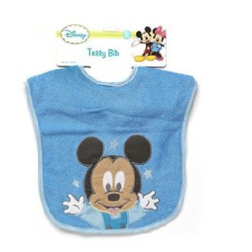Mickey Mouse Deluxe Terrycloth Pullover Bib