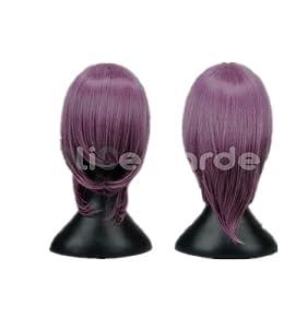 NARUTO Lamento Junjou Romantica Umineko no Nakukoroni Short Purple Cosplay Wigs (Mix Purple)