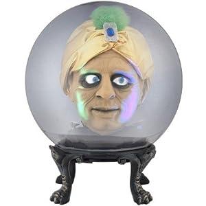 Animated Halloween Spirit Ball With Creepy Genie Swami ...