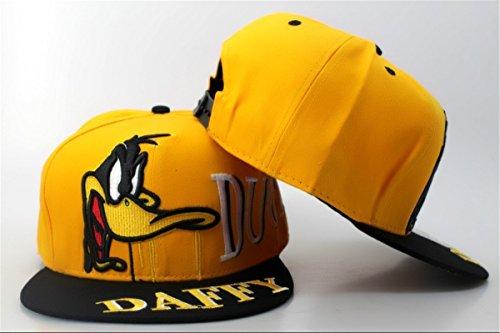 porkys-duck-hunt-daffy-duck-enregistrables-chapeaux-casquette-de-baseball-jaune