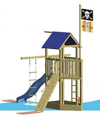 WINNETOO Pirat 3 Spielturm