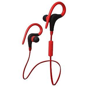 Baost Wireless Bluetooth 4.1 Headset Sport Stereo Earphone Headphone - Red