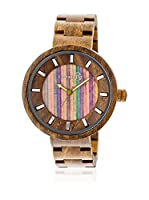 Earth Wood Watches Reloj con movimiento japonés Unisex 48 mm