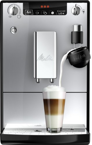 caf melitta caffeo e955 103 lattea machine caf automatique 1400 w 15 bars argent noir. Black Bedroom Furniture Sets. Home Design Ideas