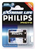 Philips 2CR5 6V Lithium Photocell Camera Battery