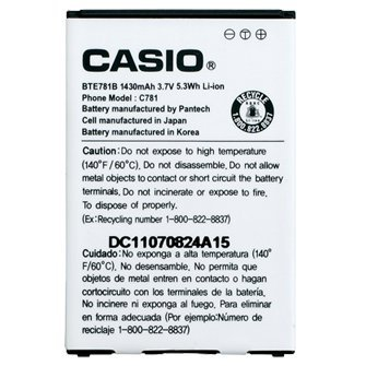Casio Ravine 2 C781 Extended Battery with Door