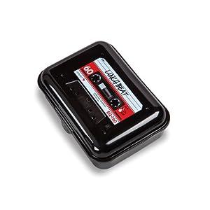 Brotdose Lunch Beat: Lunch Beat / Brotdose mit Aufdruck / Kassette