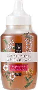 日新蜂蜜 純粋アルゼンチン&カナダ産はちみつ 720g