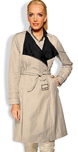 Heine classico da donna taglia 34 marce giaccone cappotto di