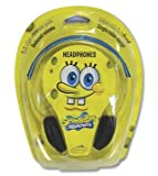 Nickelodeon Spongebob Squarepants Adjustable Headband Headphones For Leapfrog LeapPad2 Explorer