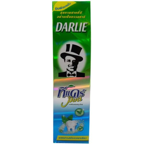 Darlie Toothpaste Tea Care Mint Green Tea Extract 160 G : 6 Tubes