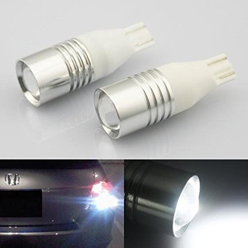 Partsam 912 T15 921 Super White CREE LED Backup Reverse Lights Bulbs (2008 Dodge Caliber Se Headlights compare prices)