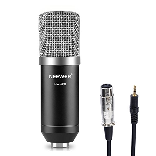 neewer nw 700 micro microphone condensateur enregistrement studio radio and record kit. Black Bedroom Furniture Sets. Home Design Ideas