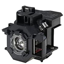 Compatible Epson Premium High Quality ELPLP42 / V13H010L42 Projection Lamp With Housing For Epson Projector EB-410W, EB-410We, EMP-280, EMP-400We, EMP-410W, EMP-410We, EMP-822, EMP-822H, EMP-83, EMP-83e, EMP-83H, EMP-83He, PowerLite 410W, PowerLite 410We, PowerLite 822+, PowerLite 822p, PowerLite 83+, PowerLite 83c